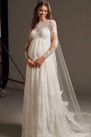 Robe de mariée spécial femme enceinte